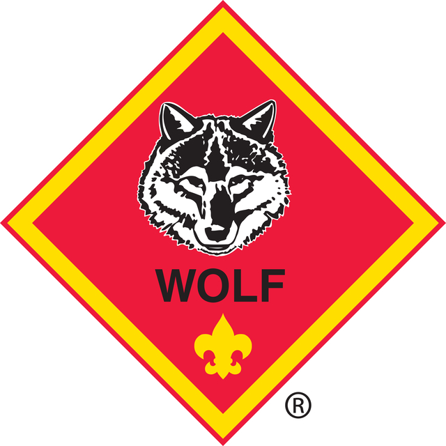 Wolf rank logo color